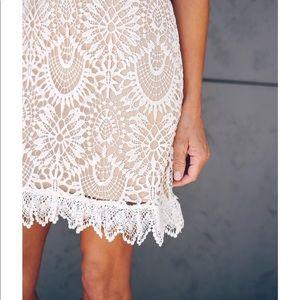 Anthropologie Hazel Crochet Skirt